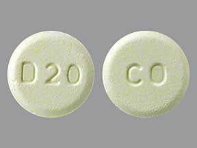 olanzapine 20 mg disintegrating tablet