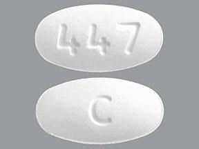 irbesartan 75 mg tablet