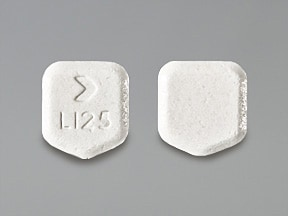 lamotrigine 25 mg chewable dispersible tablet