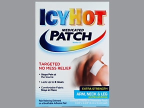 Icy Hot (menthol) 5 % topical patch