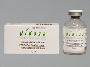 Vidaza 100 mg solution for injection