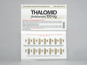 Thalomid 100 mg capsule
