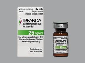 Treanda 25 mg intravenous powder for solution
