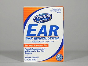 Ear Wax Removal System 6.5 % drops