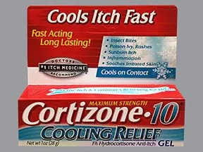 Cortizone-10 1 % topical gel