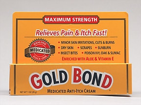 Gold Bond Medicated Anti-Itch 1 %-1 % topical cream