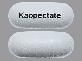 Kaopectate (bismuth subsalicylate) 262 mg tablet