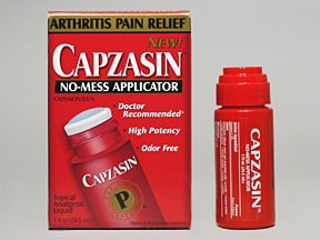 Capzasin 0.15 % topical liquid