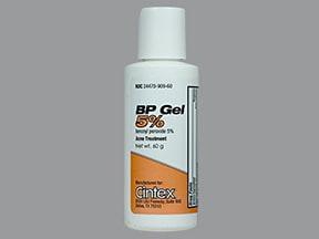 BP 5 % topical gel