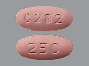 levofloxacin 250 mg tablet