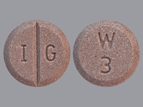 warfarin 3 mg tablet