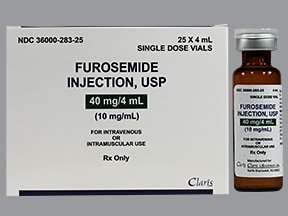 furosemide 10 mg/mL injection solution