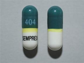 Semprex-D 8 mg-60 mg capsule