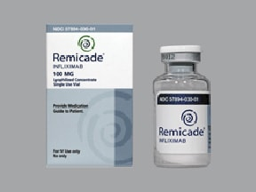 Remicade 100 mg intravenous solution