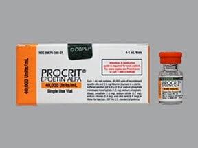 Procrit 40,000 unit/mL injection solution