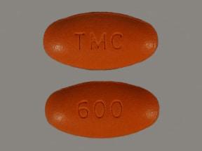 Prezista 600 mg tablet