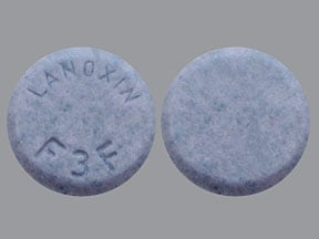 Lanoxin 187.5 mcg tablet