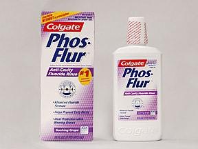 Phos-Flur 0.02 % fluoride (0.044 % sodium fluoride) dental solution