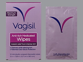 Vagisil Anti-Itch 1 % towelette
