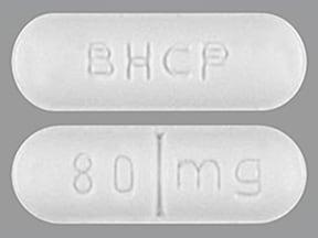 Betapace AF 80 mg tablet