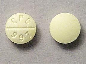 chlorpheniramine 4 mg tablet