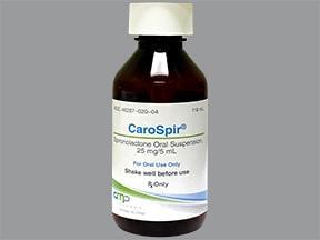 CaroSpir 25 mg/5 mL oral suspension