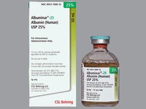 Albuminar 25 % intravenous solution