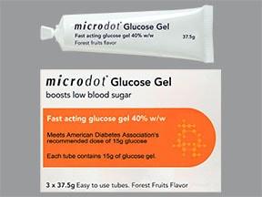Microdot Glucose Gel 40 % oral
