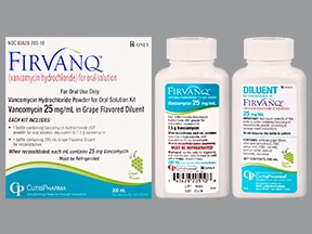 Firvanq 25 mg/mL oral solution