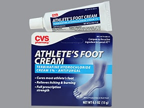 Athlete's Foot (terbinafine) 1 % topical cream