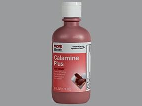Calamine Plus (pramoxine-calamine) 1 %-8 % lotion