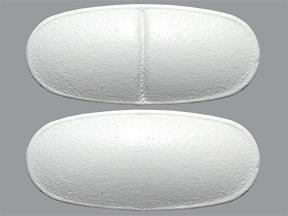 calcium carbonate 600 mg calcium (1,500 mg) tablet