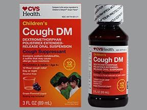 Children's Cough DM ER 30 mg/5 mL oral suspension,extended release