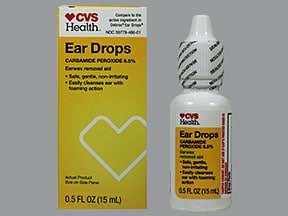 Ear Drops (carbamide peroxide) 6.5 %