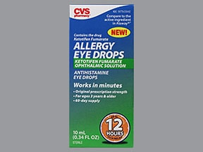 Eye Allergy Drops >> Allergy Eye Ketotifen Uses Side Effects Interactions Pictures