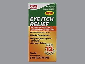 Eye Itch Relief Uses Side Effects Interactions Pictures