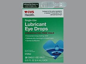 Lubricant Eye (PG-PEG 400) (PF) 0.4 %-0.3 % drops in a dropperette