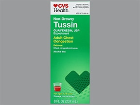 Tussin 100 mg/5 mL oral liquid