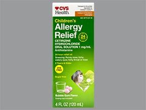 Children's Allergy Relief (cetirizine) 1 mg/mL oral solution