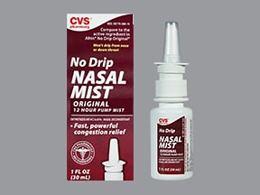 Nasal Spray (oxymetazoline) 0.05 %