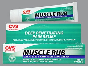 Muscle Rub 15 %-10 % topical cream