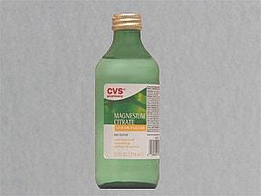 magnesium citrate oral solution
