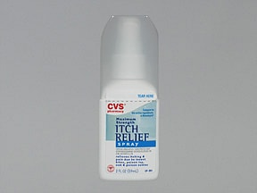 Itch Relief (diphenhydramine) 2 % topical spray