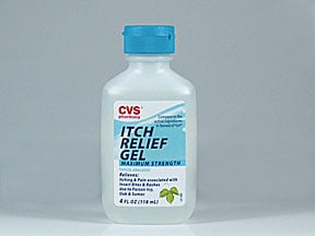 Itch Relief (diphenhydramine) 2 % topical gel