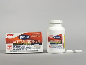 acetaminophen ER 650 mg tablet,extended release