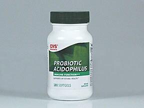 Lactobacillus acidophilus capsule