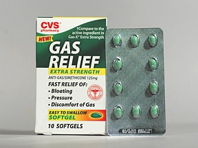Gas Relief Extra Strength 125 mg capsule