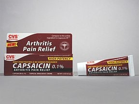 capsaicin 0.1 % topical cream