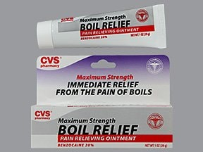 Boil Relief 20 % topical ointment