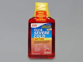 Flu and Severe Cold-Daytime 5 mg-10 mg-325 mg/15 mL oral liquid